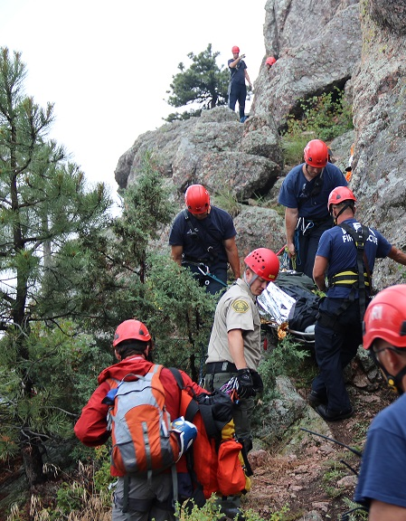 Horsetooth Mnt. Open Space Rescue