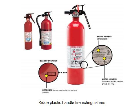 Kidde recalls about 38M fire extinguishers