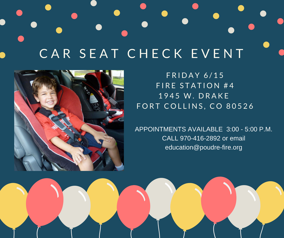 Copy of car seat check event