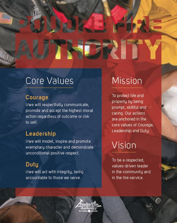 2018 PFA Vision Mission Values Image