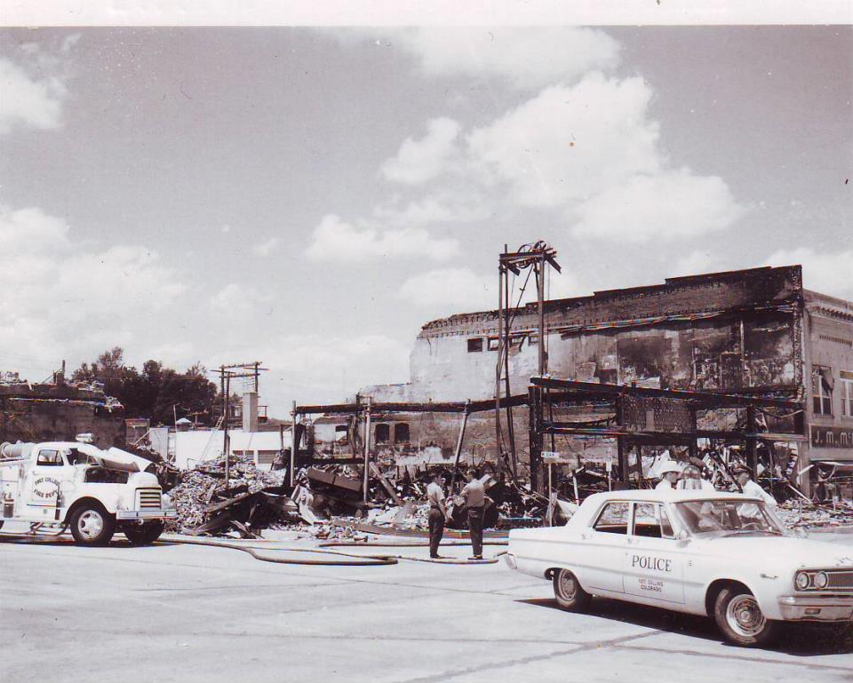State Dry Goods Fire 1965