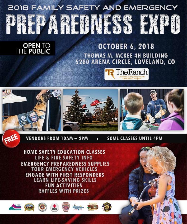 2018 Family Safety & Preparedness Expo | Calendar Meeting